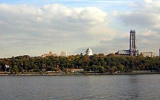 Morningside Heights, Manhattan - From the Hudson River