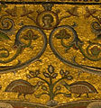 Mosaici del battistero, centro della cupola 01.jpg