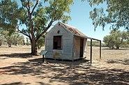 Mosque in bourke cemetery nsw australia