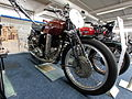 Motor-Sport-Museum am Hockenheimring, Dark red CM 500 with OHV engine, pic2.JPG