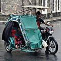 Motorized tricycle, Soriano Avenue, 2018 (01).jpg
