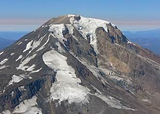 Mount Adams Wilderness - The South Climb, or South Spur climbing route on Mount Adams along Suksdorf Ridge