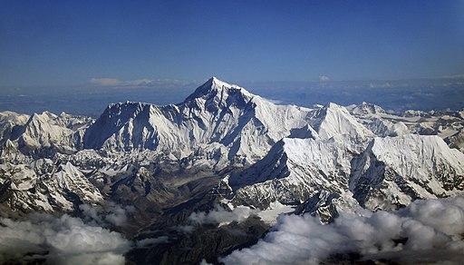 Mount Everest as seen from Drukair2