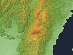 Mount Hiei Relief Map, SRTM-1.jpg