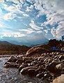 Mount Kinabalu view from Polumpung.jpg