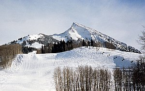 Crested Butte Mountain Resort - Image: Mount crested butte 1988