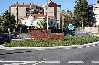 Monte Porreiro (Pontevedra) Neighbourhood in Pontevedra, Spain