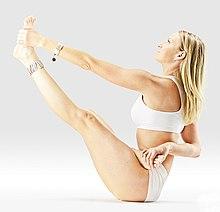 220px Mr yoga half lotus bound boat pose yoga asanas Liste des exercices et position à pratiquer