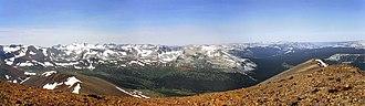 Mount Gibbs - Image: Mt gibbs panorama seamless
