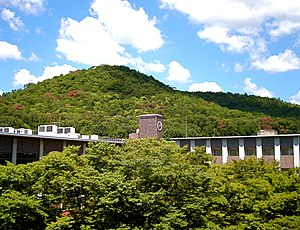 Mt. Kinugasa and Ritsumeikan University (Kyoto, Japan).JPG