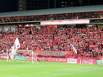 Ultra Muangthong, the fan of Muangthong United in 2013 Mtutd ultra muangthong.jpg