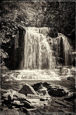 Neversink Gorge - Mullet Falls in the Neversink Gorge Unique Area