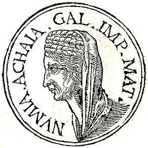 Mummia Achaica - Mummia Achaica from Promptuarii Iconum Insigniorum