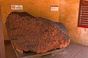 Mundrabilla (meteorite) - Mundrabilla main mass