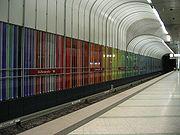 Munich subway DF