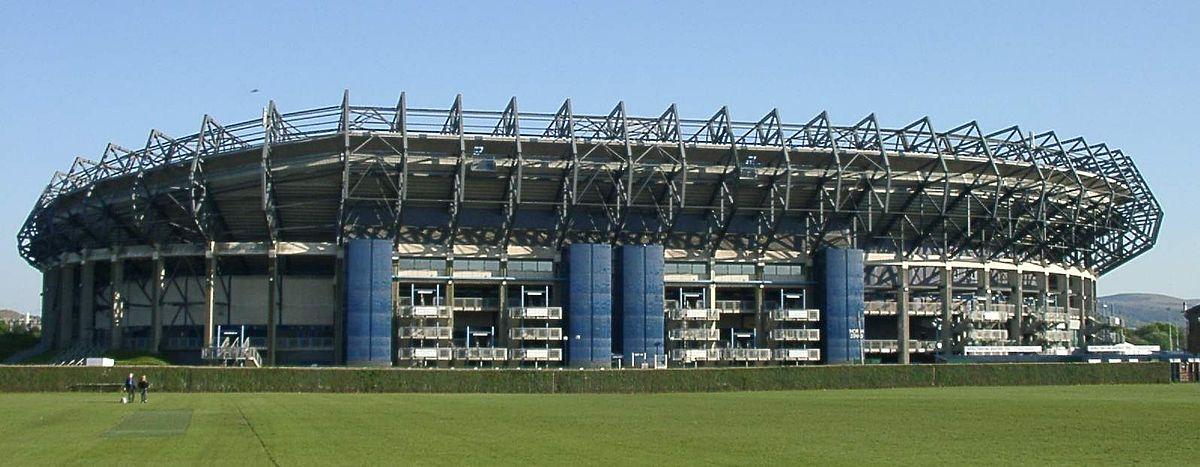 Bildergebnis für fotos vom bt murrayfield stadium in schottland