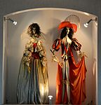 Museum of Minsk Puppet Theatre D'Artagnan and Constance.JPG