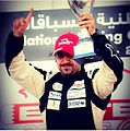 Mustafa Al Khan was a prominent figure in Bahraini motorsport, both as a competitor and as an ambassador- He was the 2010 champion of the BIC 2,000cc Challenge, and he also took part in the Chevrolet Supercars 2013-08-16 00-20.jpg