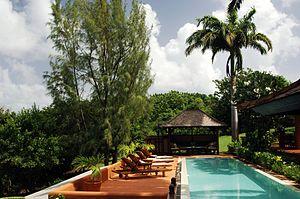 Mustique - A villa.