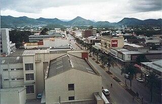 Mutare City in Manicaland, Zimbabwe