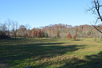 York Township, Athens County, Ohio - Fields and woods north of Doanville