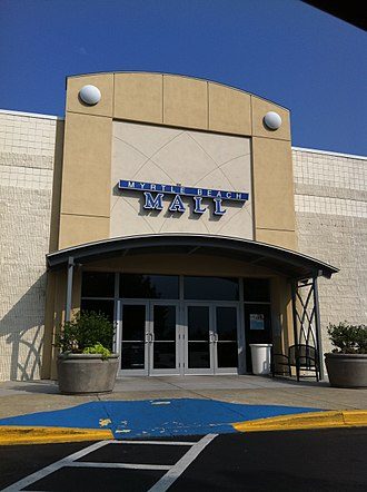 Myrtle Beach Mall - Entrance to Myrtle Beach Mall, August 2011