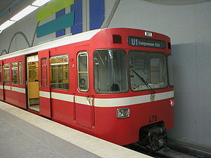 Nuremberg U-Bahn - Nuremberg U-Bahn train type DT1