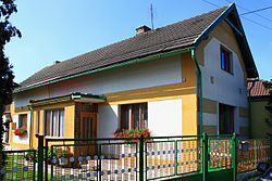 Němčice, small house.jpg