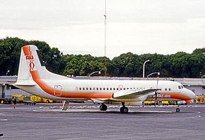 Austral Líneas Aéreas - NAMC YS-11A of Austral at Aeroparque Jorge Newbery in 1972