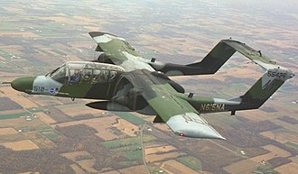 North American Rockwell OV-10 Bronco - Image: NASA OV 10