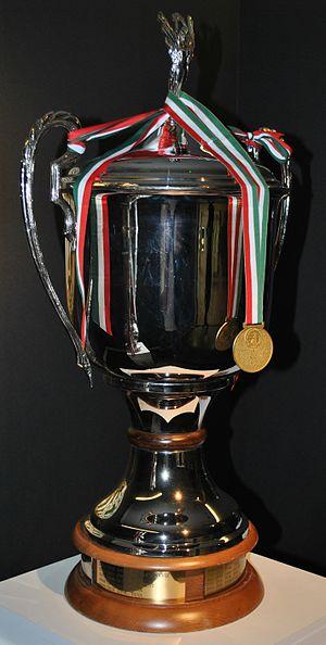 Nemzeti Bajnokság I - The trophy of the Nemzeti Bajnokság