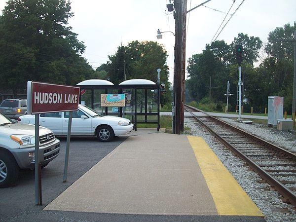 South Shore Line Station Miller Beach