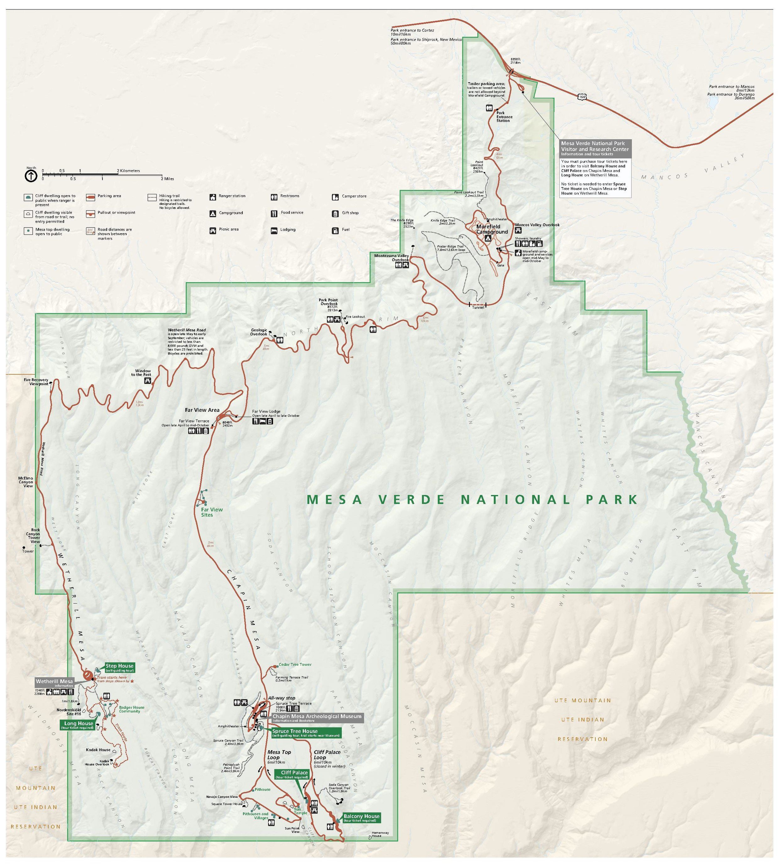 File:NPS mesa-verde-map.pdf - Wikimedia Commons on