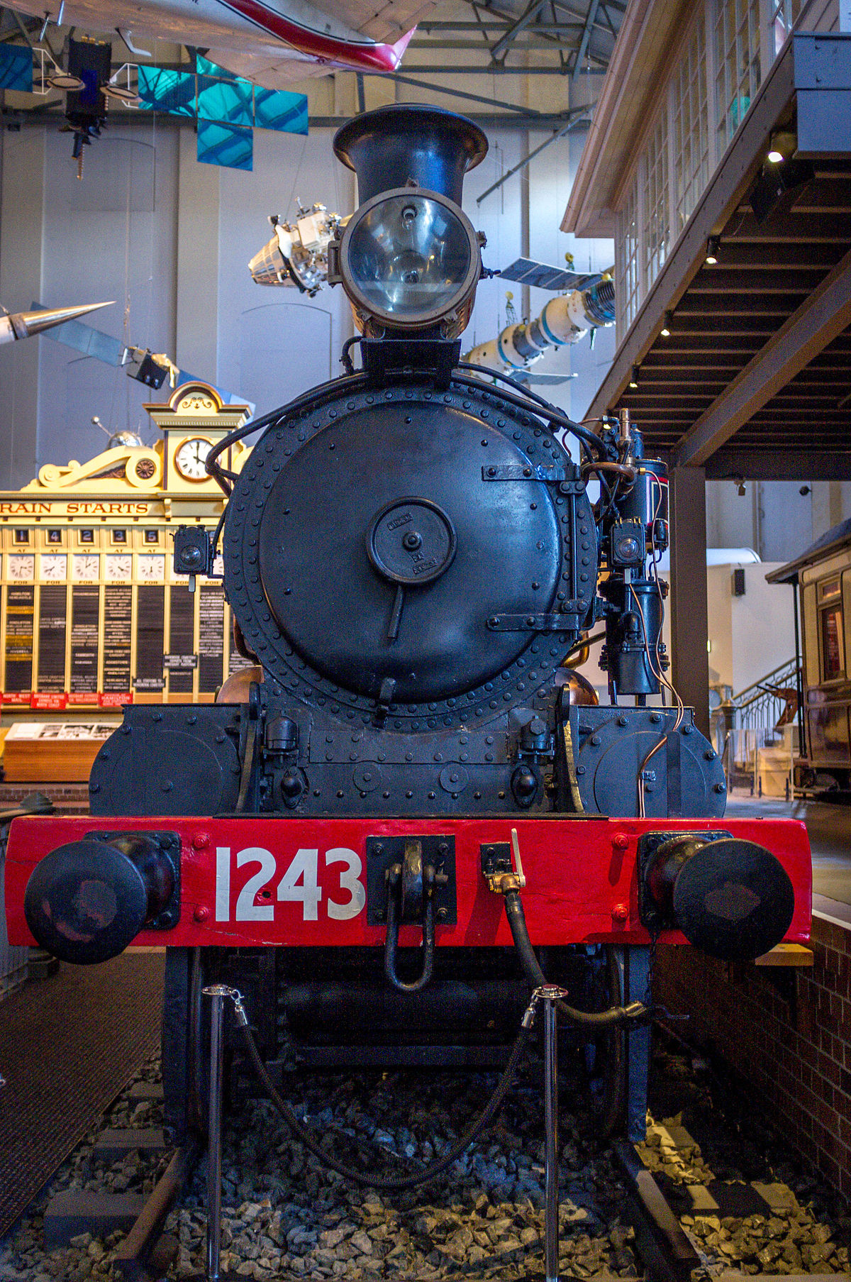 Px Nswgr Locomotive C on How A Steam Locomotive Works