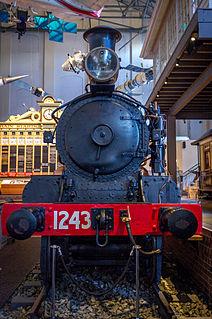 Z1243 preserved Australian 4-4-0 locomotive