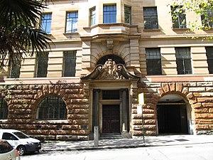Department of Education building - Image: NSW Dept Education Building west side Loftus Street