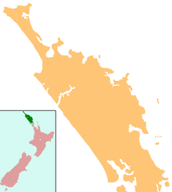 Waipu is located in Northland Region