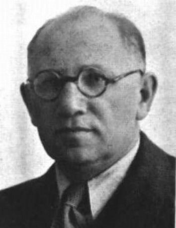 Nachum Tverski in 1949