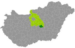 magyarország térkép nagykőrös Nagykőrös District   Wikipedia magyarország térkép nagykőrös