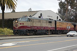 Napa Valley Tours | Napa valley train