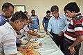 Narayana Peesapati Distributes Edible Spoon To His Lecture Attendees - NCSM - Kolkata 2018-05-11 2563.JPG