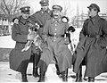 Narcyz Witczak-Witaczyński - Oficerowie i żołnierze Szwadronu Przybocznego Naczelnika Państwa na terenie koszar przy ulicy 29 Listopada (107-15-6).jpg
