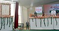 Narendra Modi addressing at the foundation stone laying ceremony for the construction of Delhi-Dasna-Meerut Expressway and Upgradation of Dasna-Hapur Section of NH-24, in Noida, Uttar Pradesh on December 31, 2015.jpg