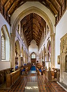 Nave, looking West, Church of St Peter and St Paul, East Harling.jpg