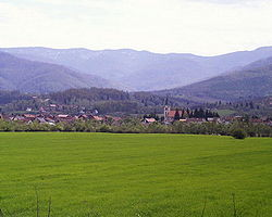 Skyline of Vitez