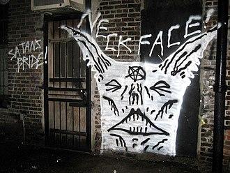 Neck Face - Neckface art work