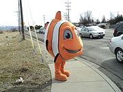 Un costume moderne de Nemo.