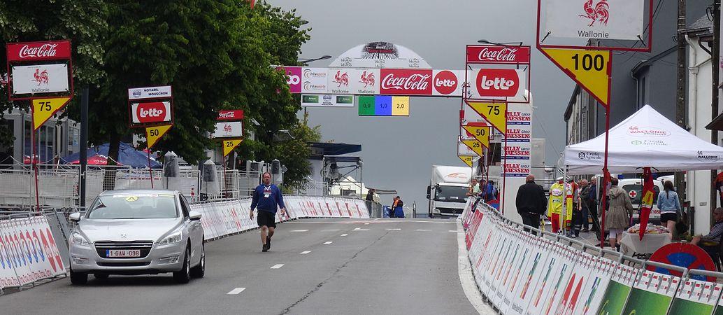 Neufchâteau - Tour de Wallonie, étape 3, 28 juillet 2014, arrivée (A18).JPG
