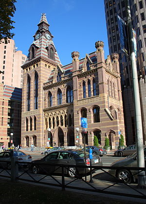 New Haven City Hall and County Courthouse - New Haven City Hall