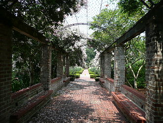 New Orleans Botanical Garden - Walkway in the New Orleans Botanical Garden